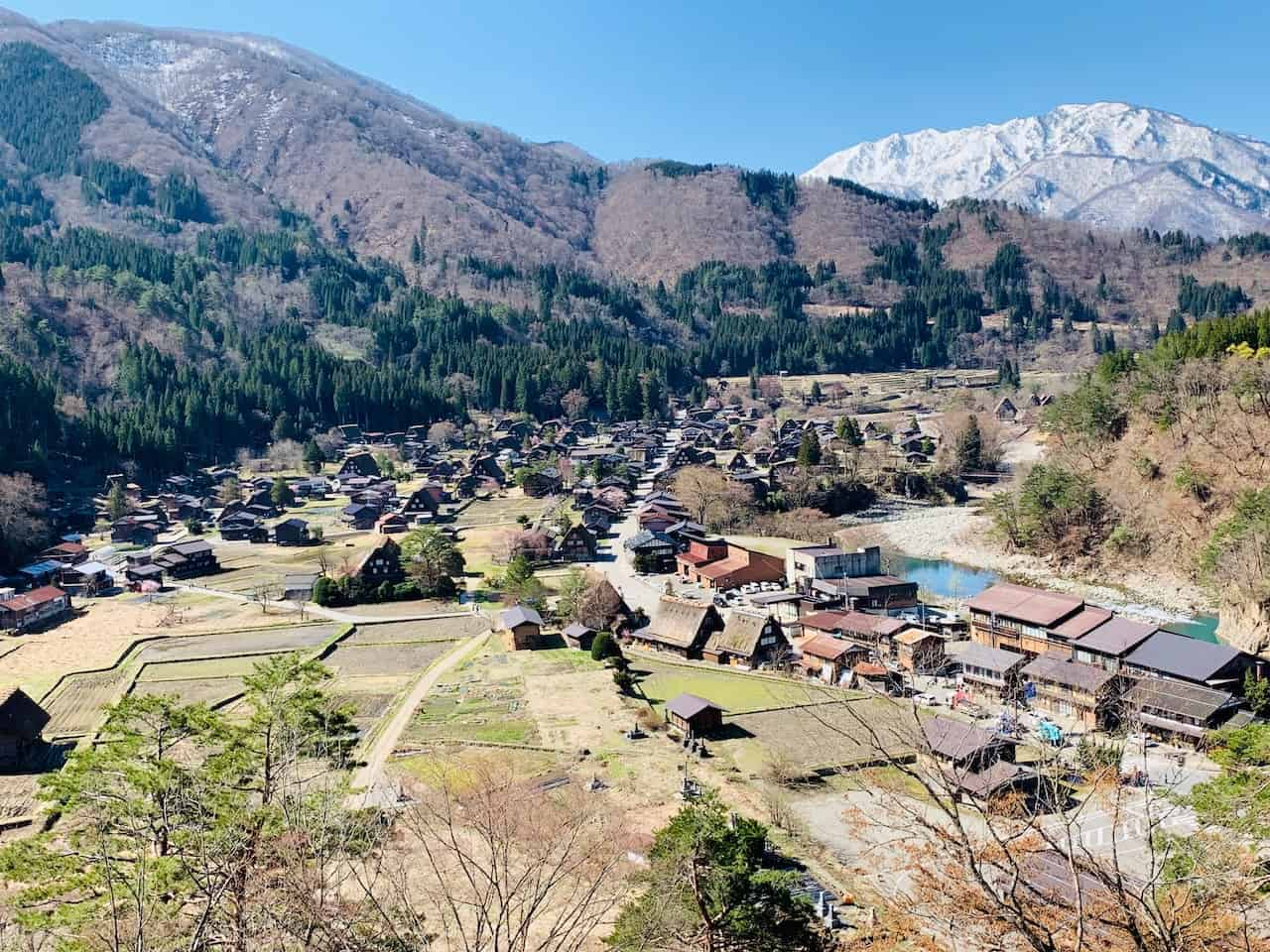 Shirakawago Viewpoint