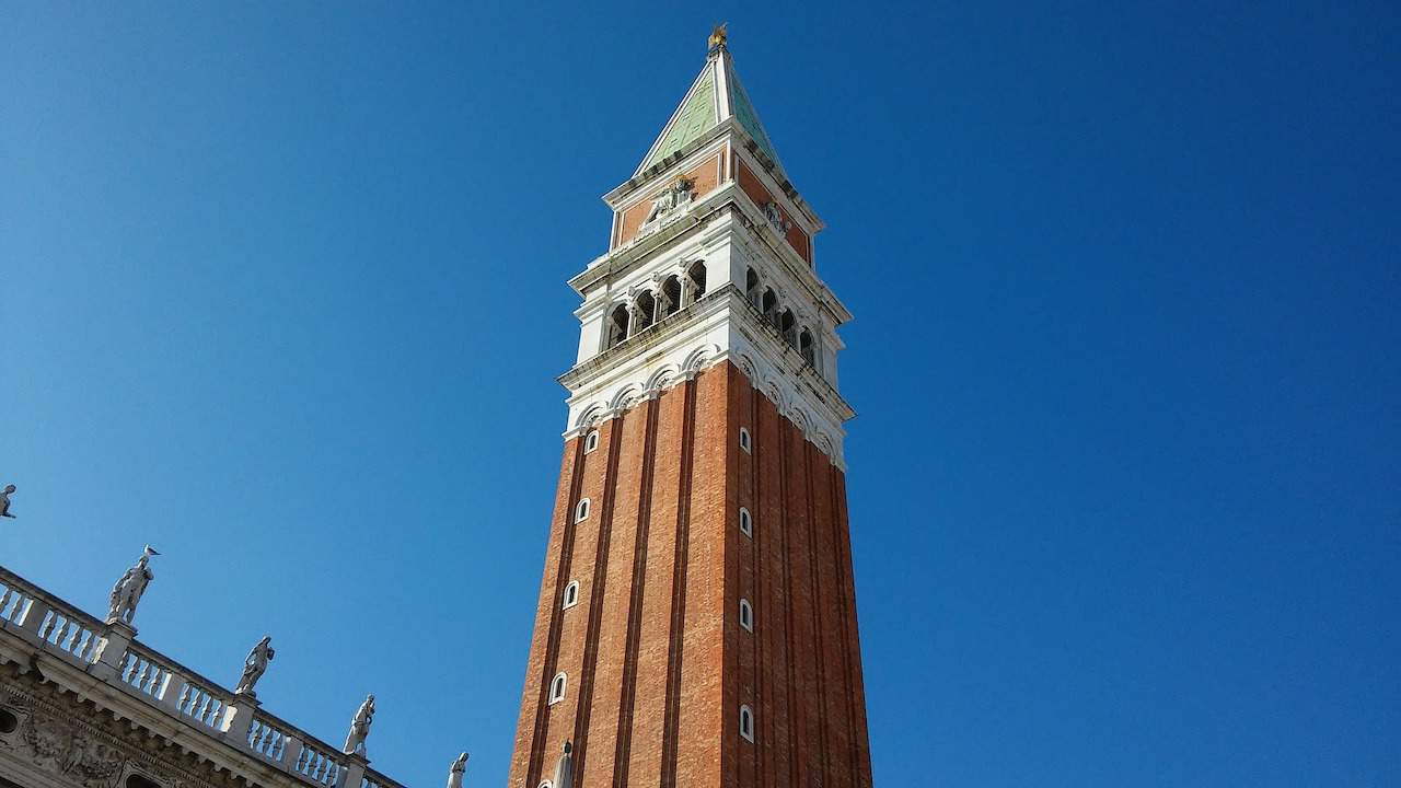 St Marks Bell Tower Venice