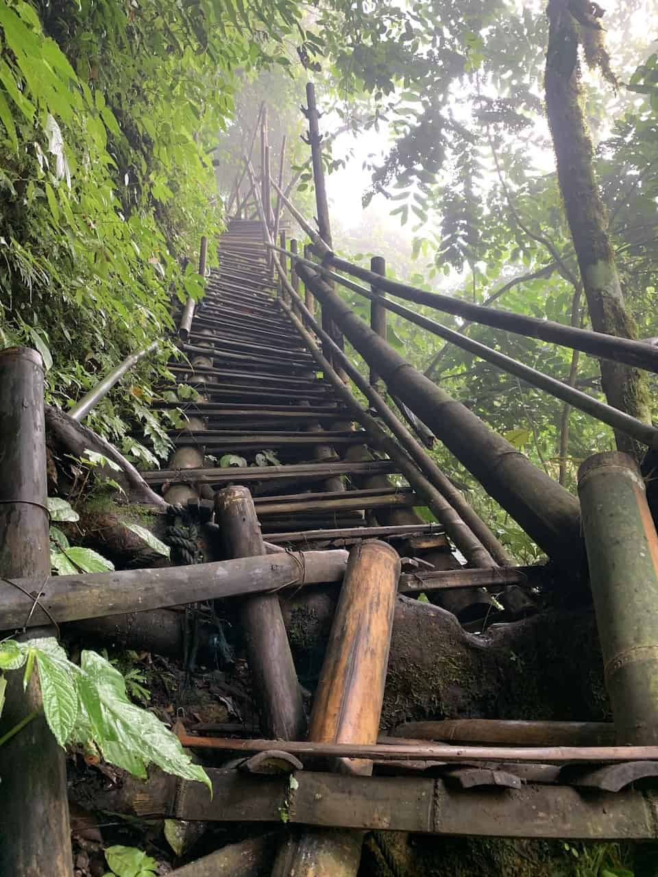 Tumpak Sewu Ladder