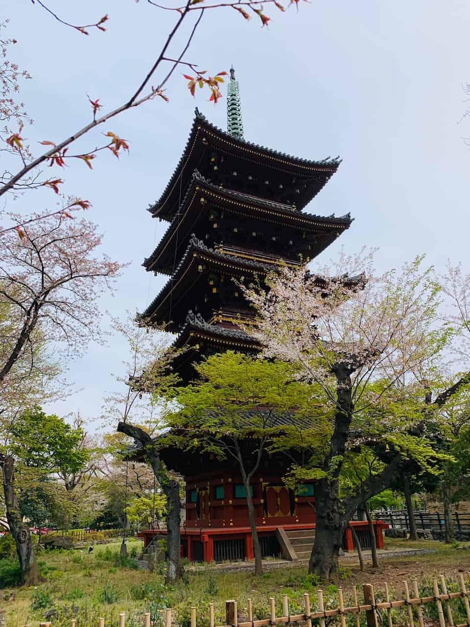 Ueno Park Pagoda