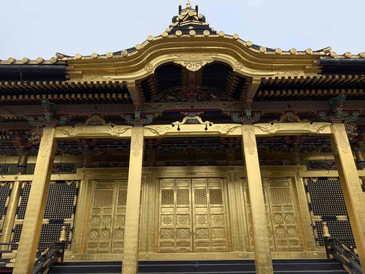 Ueno Park Temple