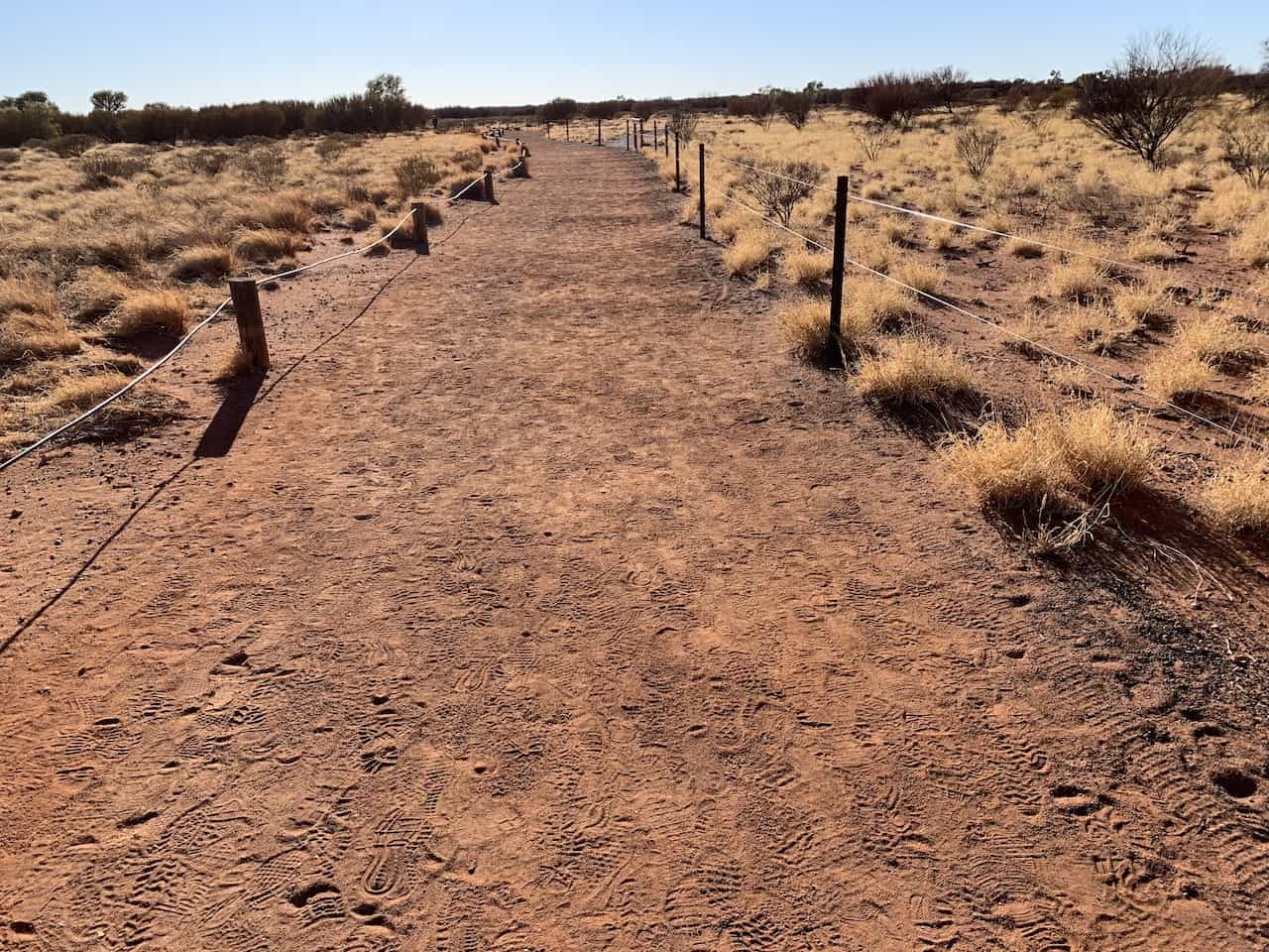 Uluru Base Walk Path