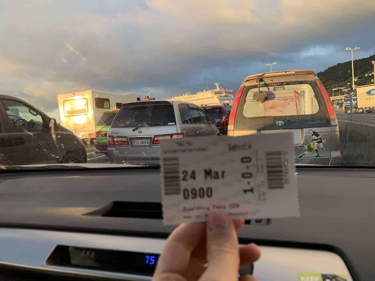 Wellington to Picton Ferry Ticket