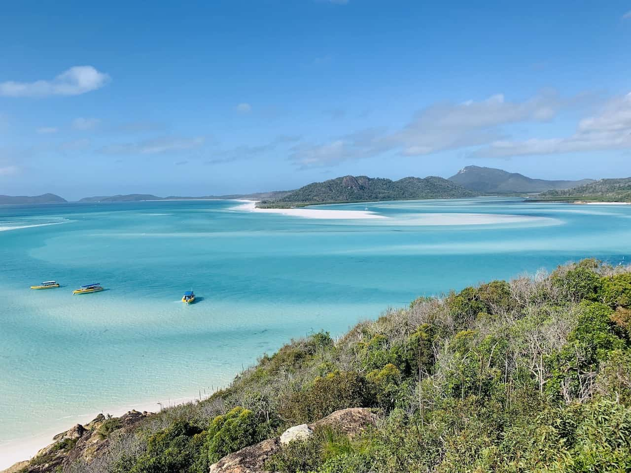 Whitehaven Beach View