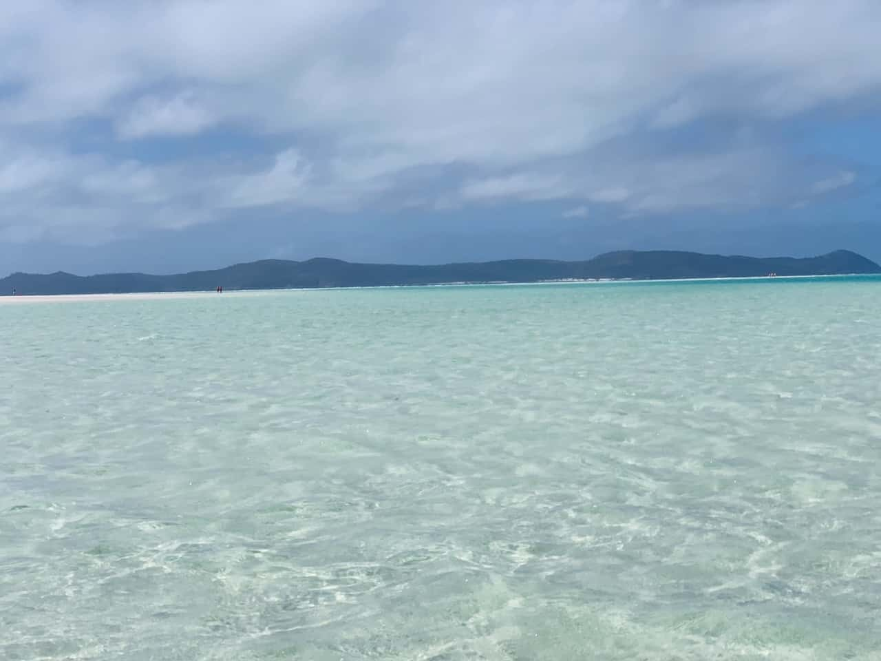 Whitehaven Beach Water