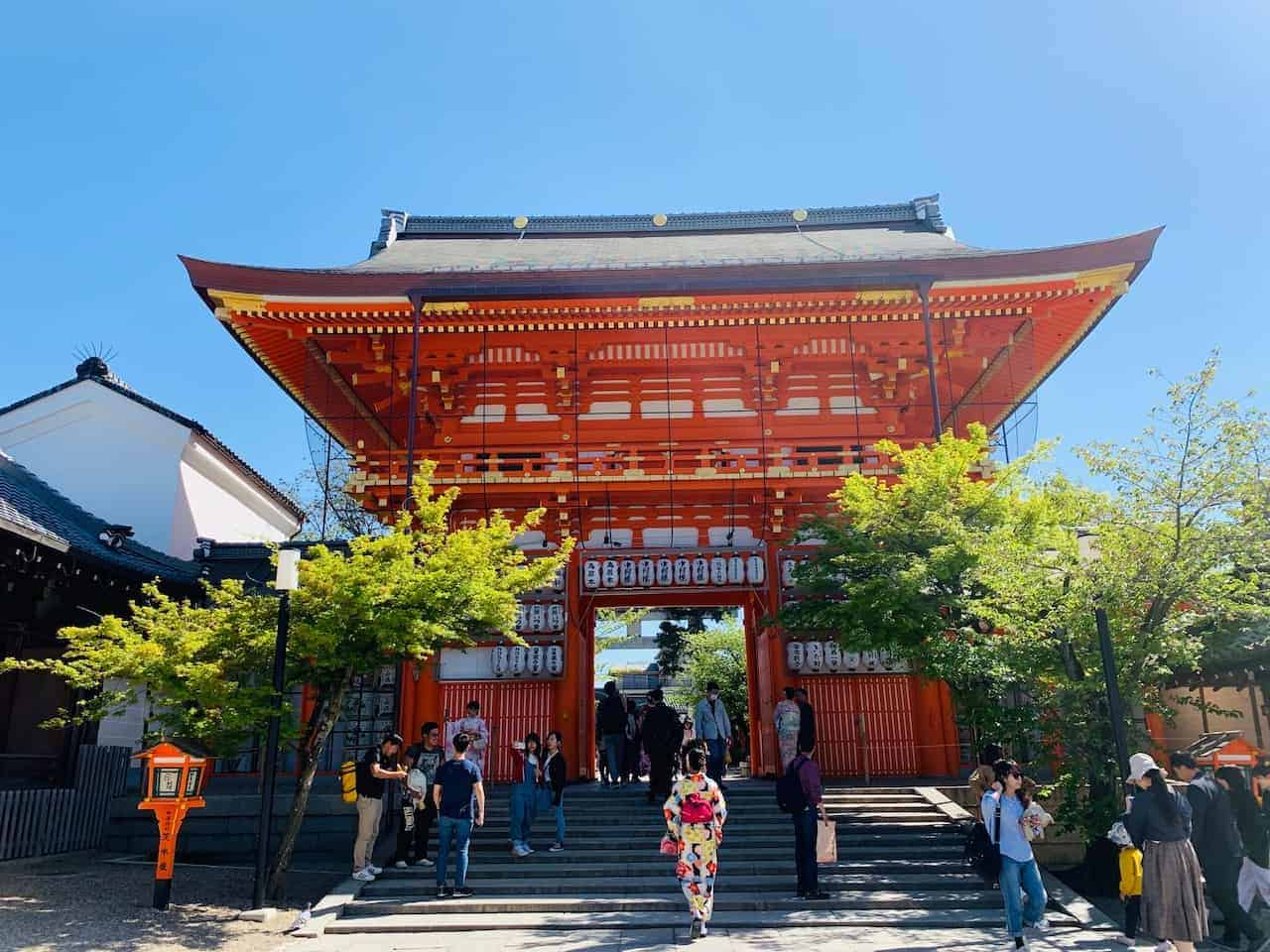 Yasaka Jinja Shrine Kyoto