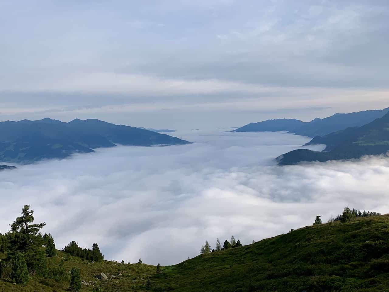 Zillertal Valley Clouds