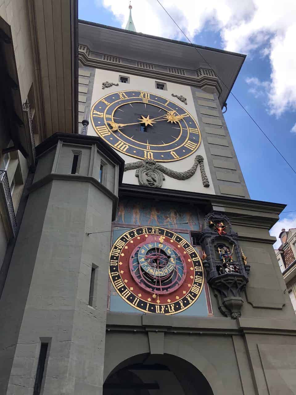 Zytalogge Bern Clock Tower