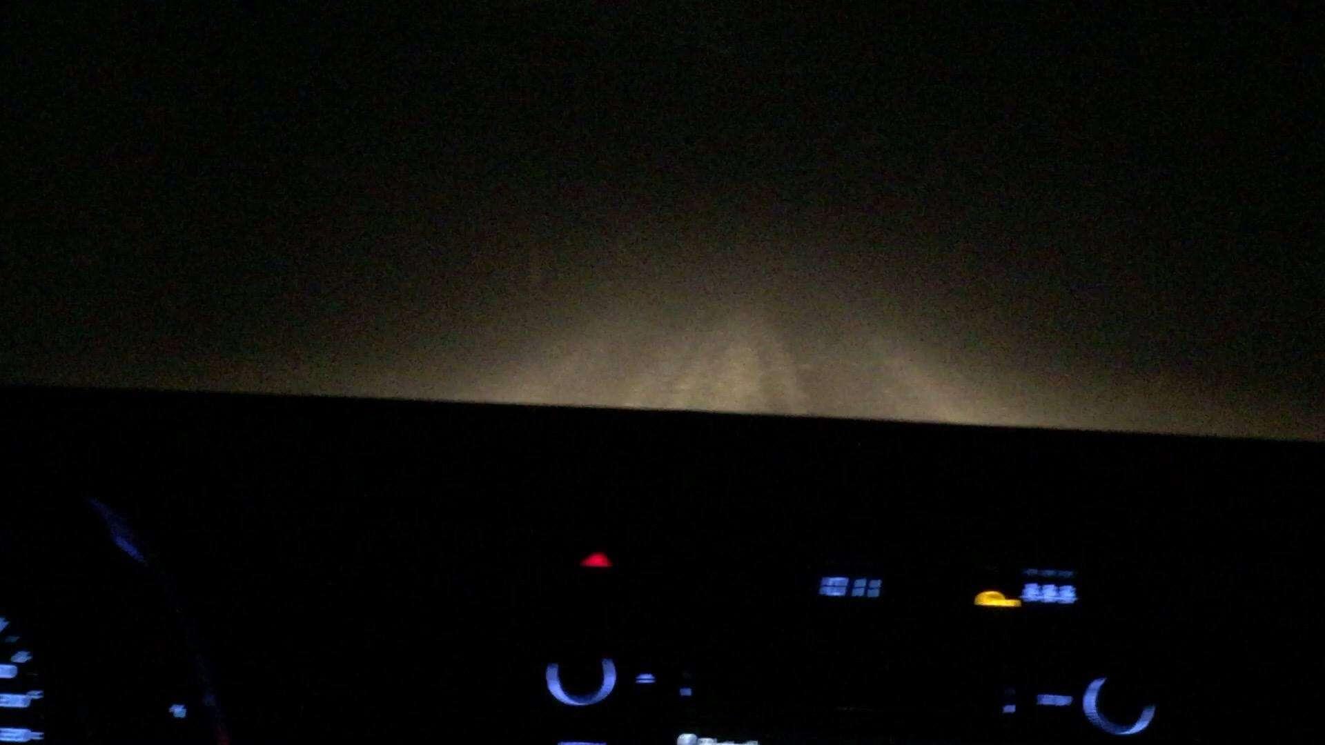 Iceland Night Driving