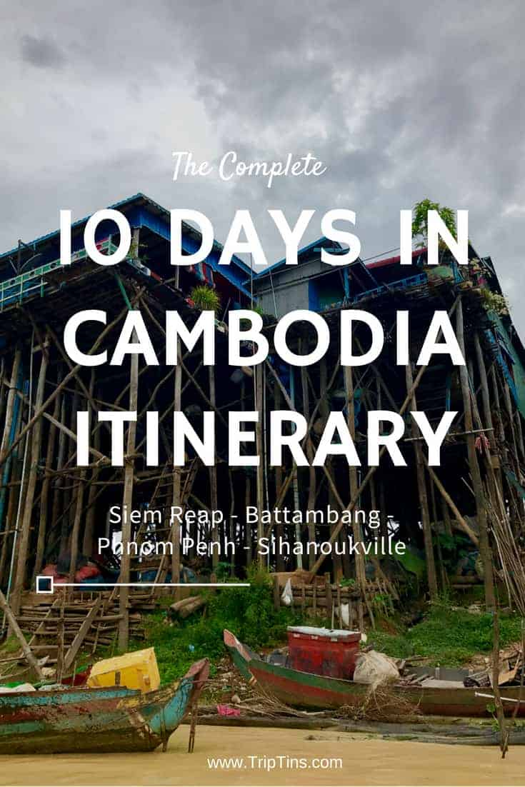 10 Days in Cambodia Itinerary