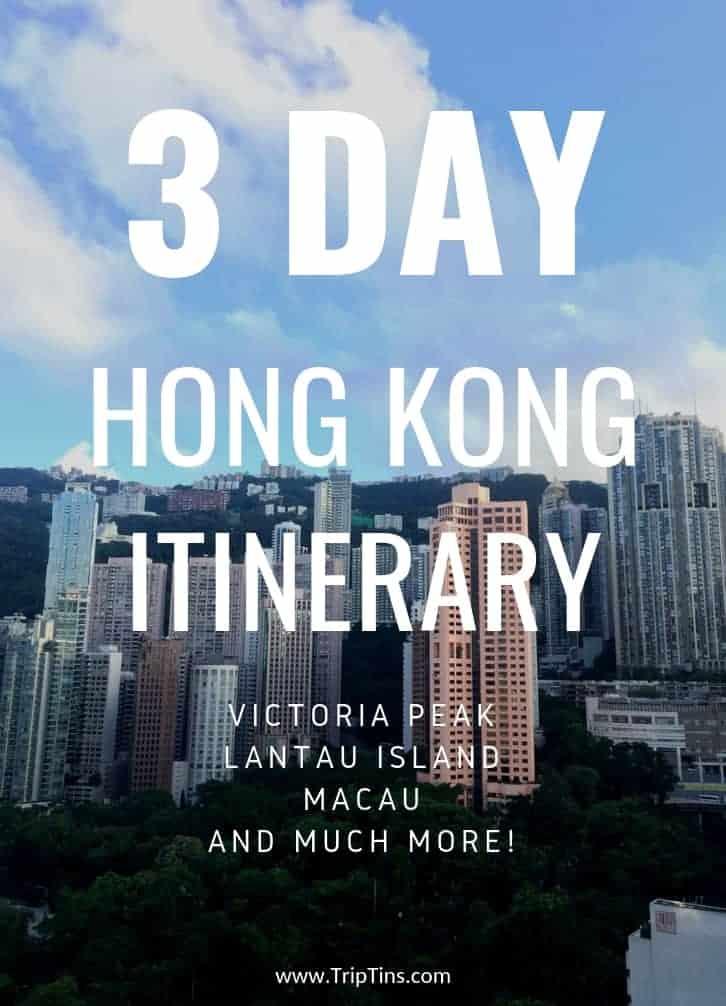 Hong Kong Itinerary 3 Days