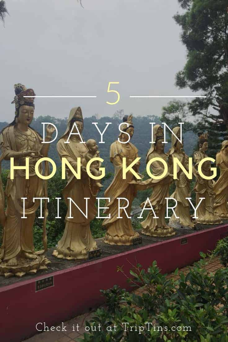 5 Days in Hong Kong