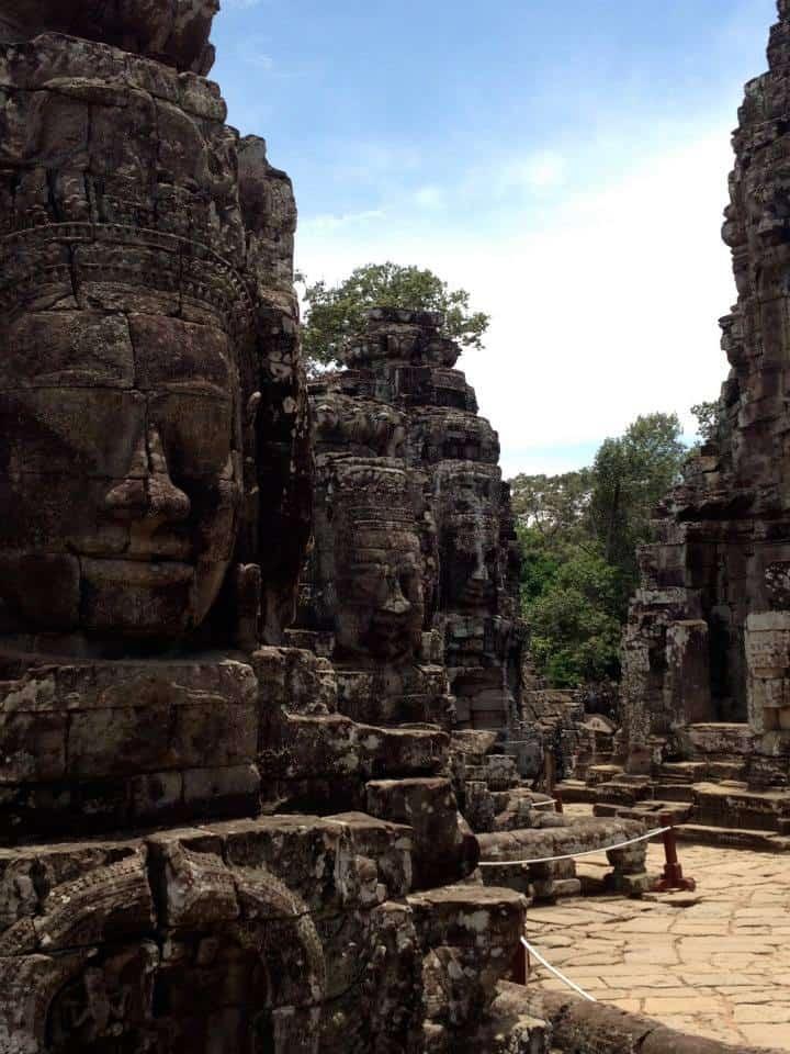 Angkor Wat Bayon Faces