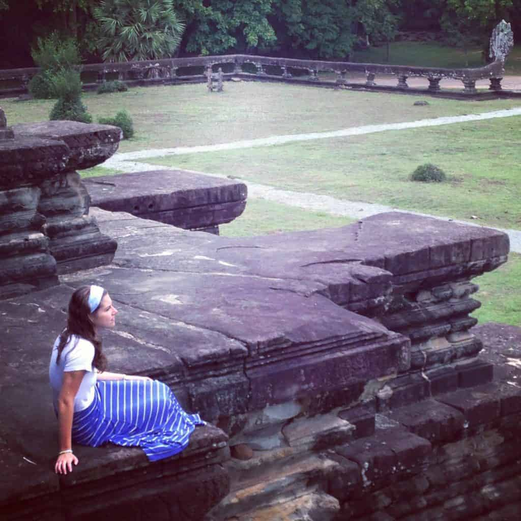 Angkor Wat Girl