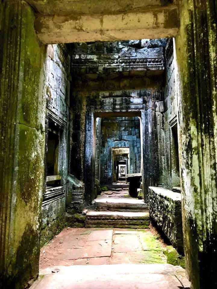 Angkor Wat Hallways