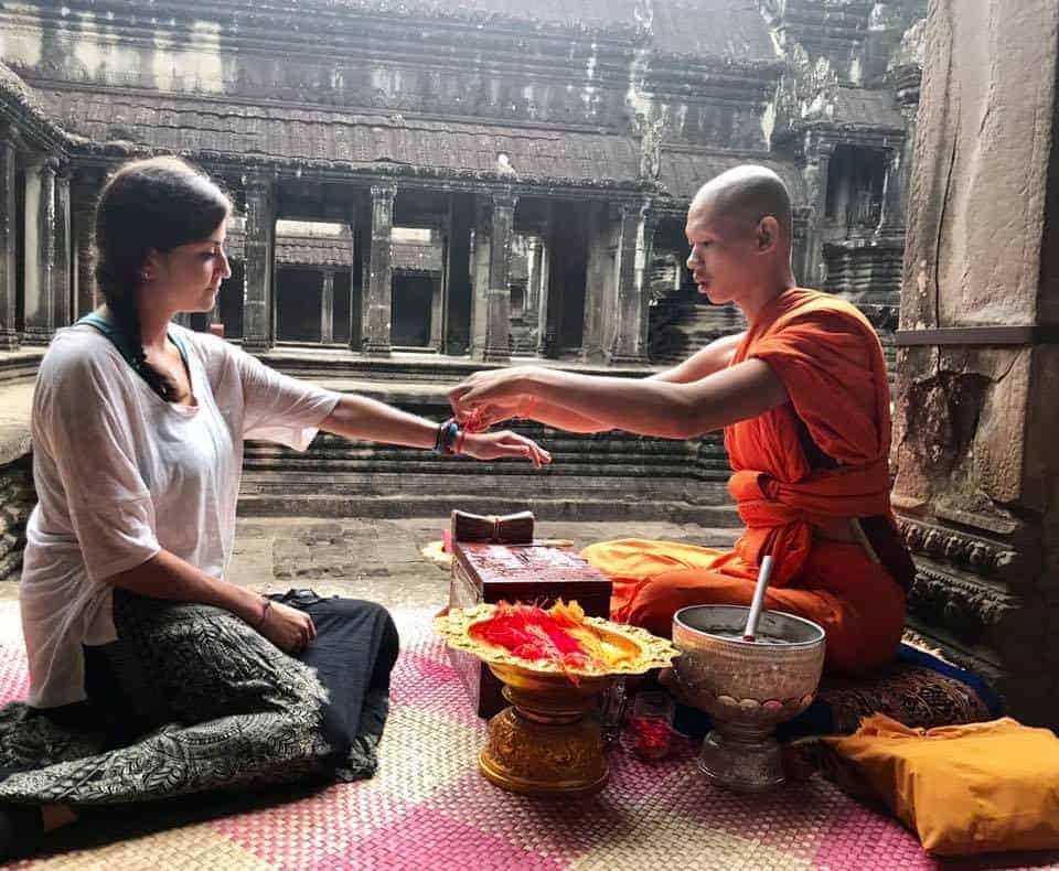 Angkor Wat Monk Bracelet