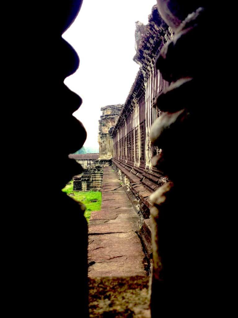 Angkor Wat Pillars