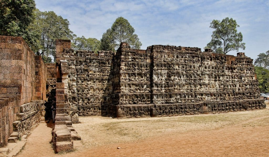 Angkor Wat Terrace of the Leper King