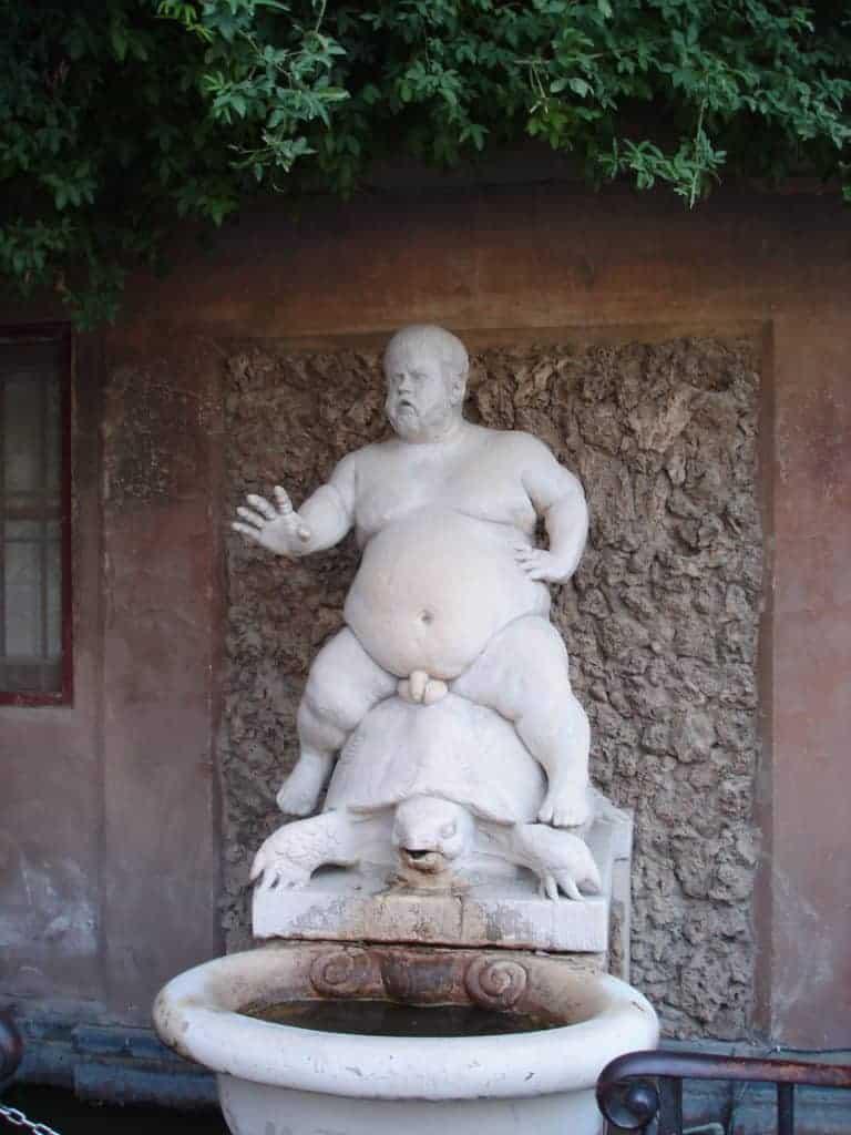 Boboli Gardens Statue