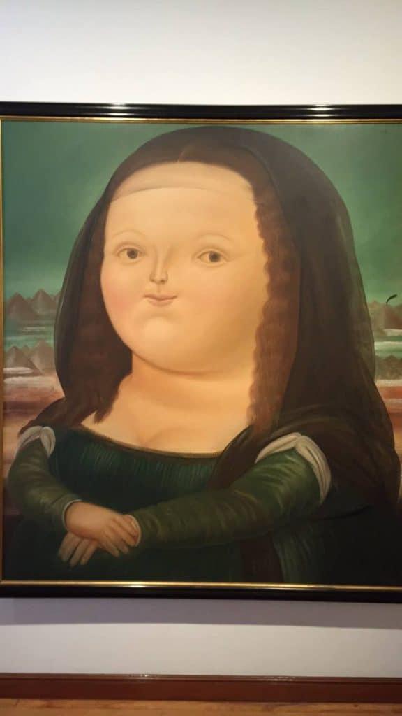 Botero Museum Bogota Painting