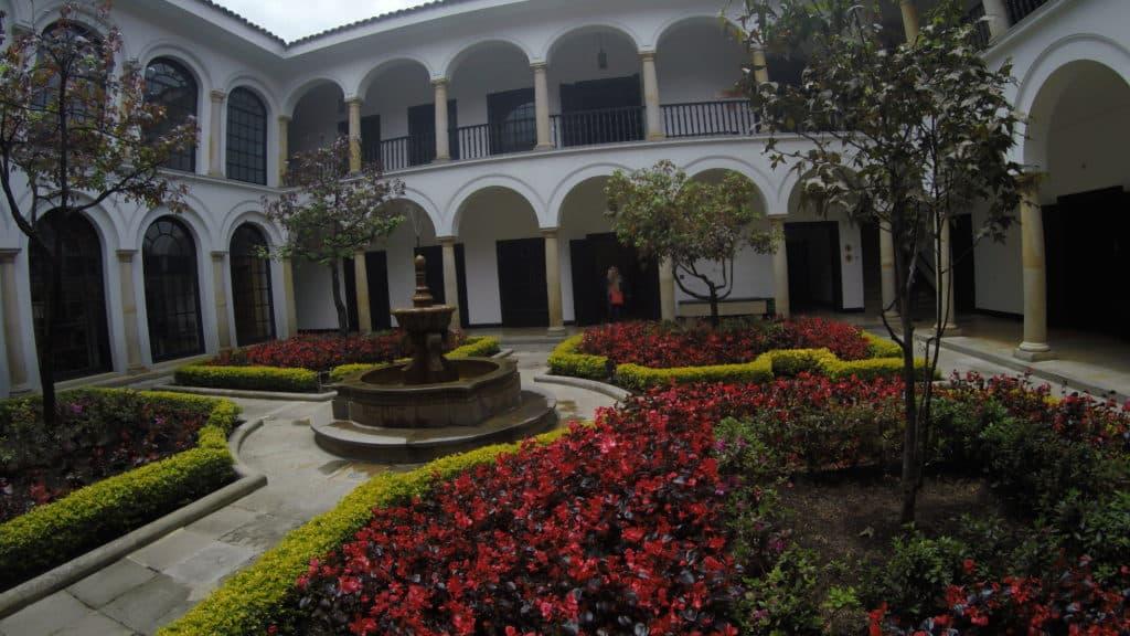 Botero Musuem Courtyard Bogota
