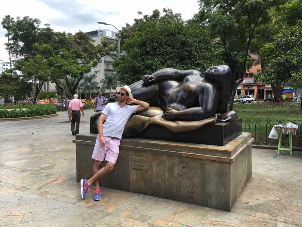 Botero Plaza Medellin