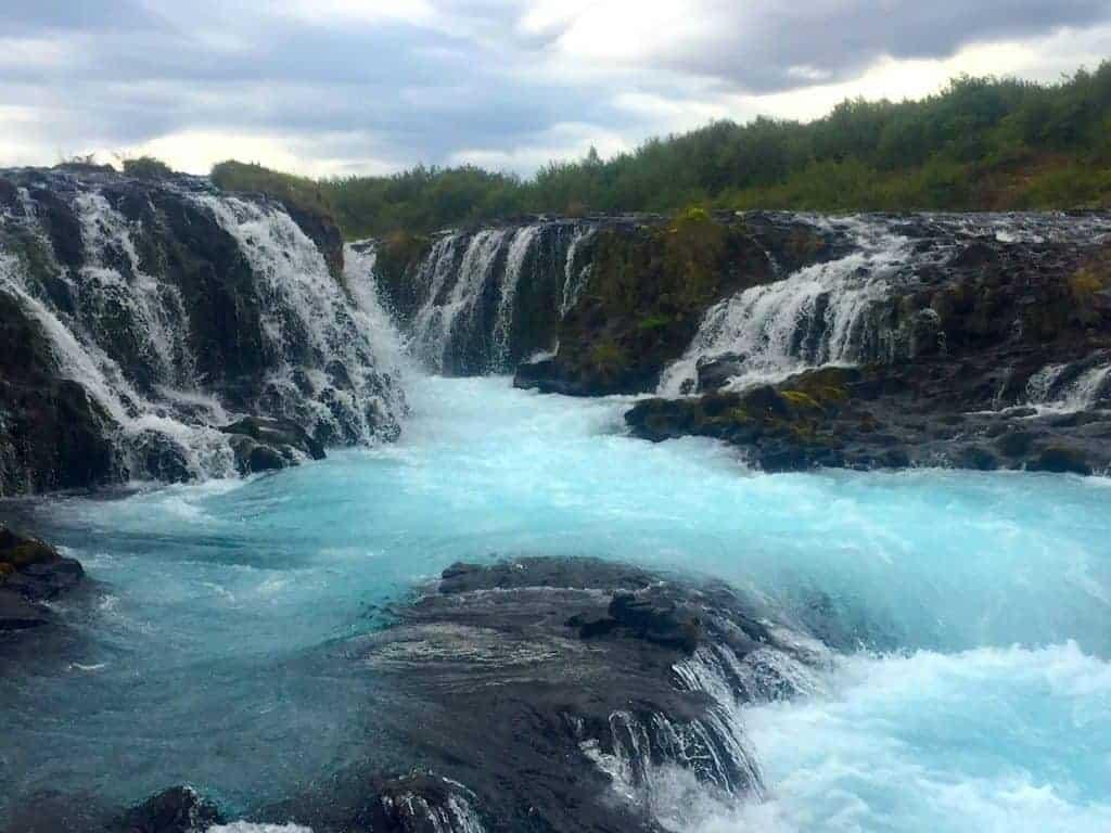 Bruarfoss Iceland Water