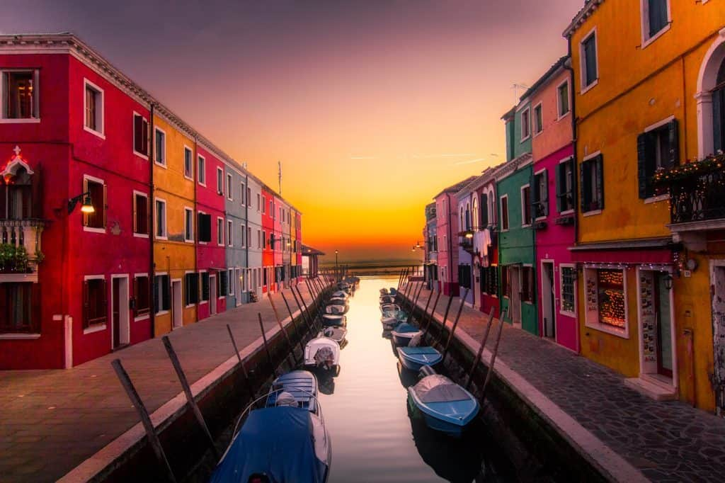 Burano Colorful Venice