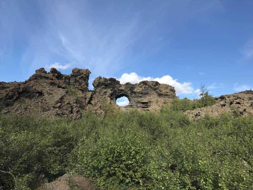 Dimmuborgir Arch