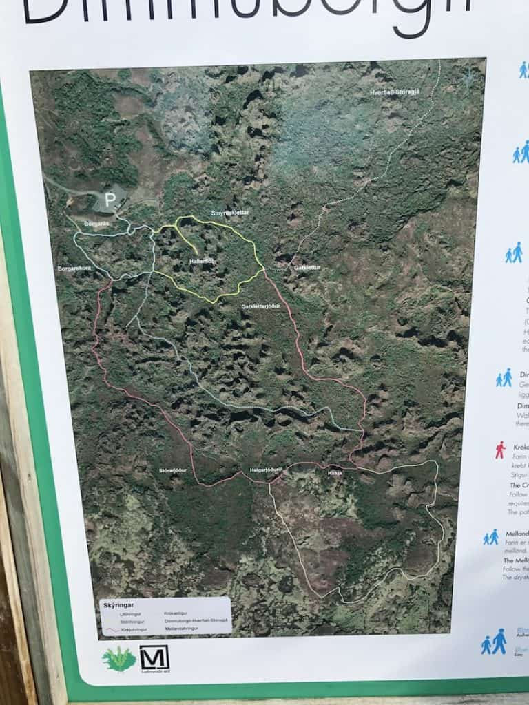 Dimmuborgir Map