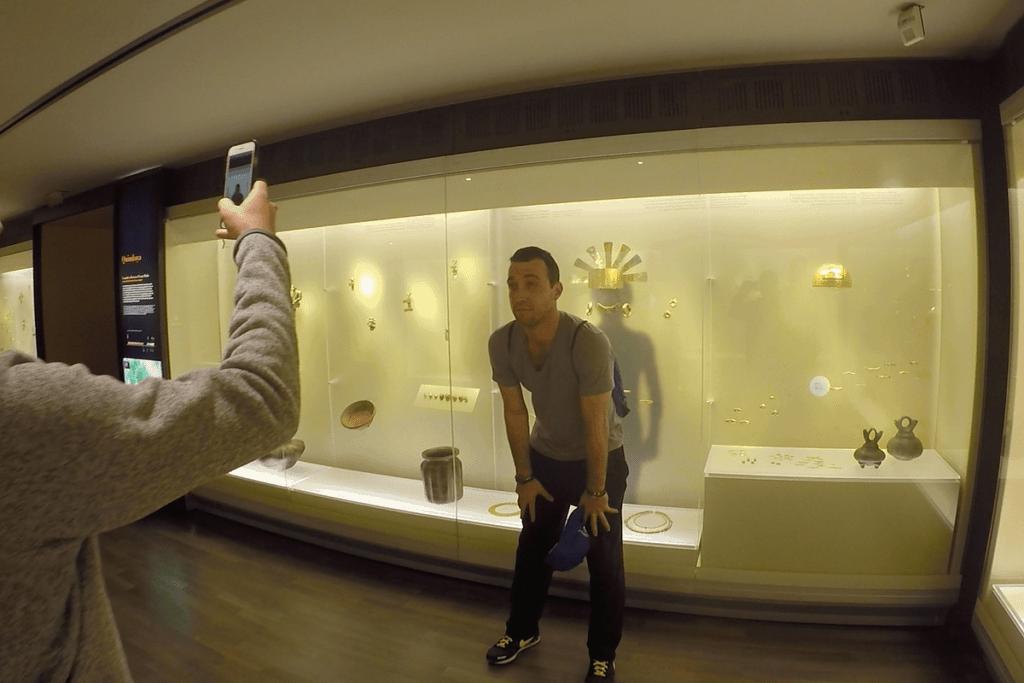 Gold Museum Bogota Hat