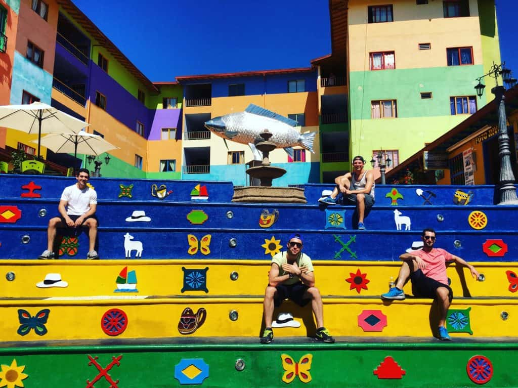 Guatape Colorful Stairs