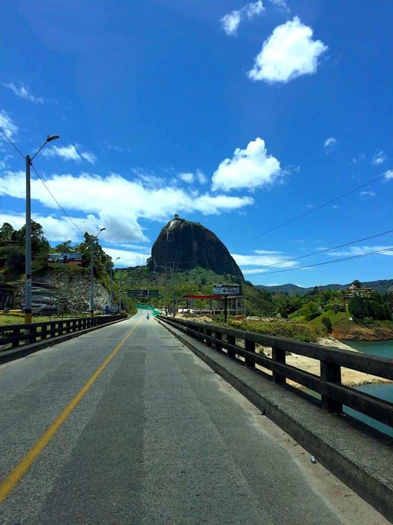 Guatape Drive Rock