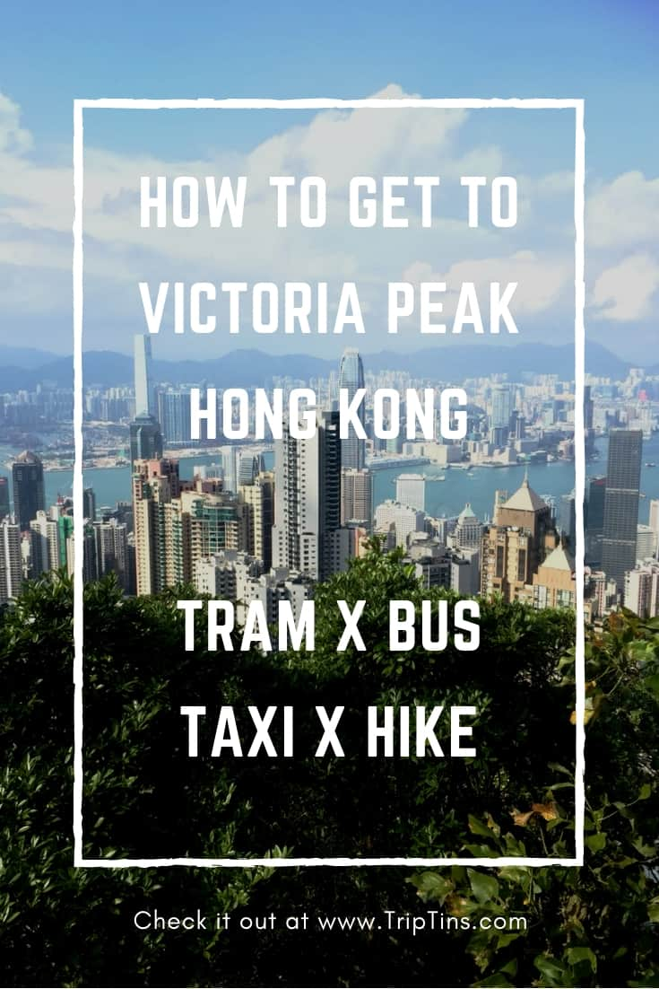 How to get to Victoria Peak