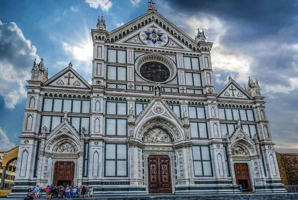 La Basilica di Santa Croce Florence