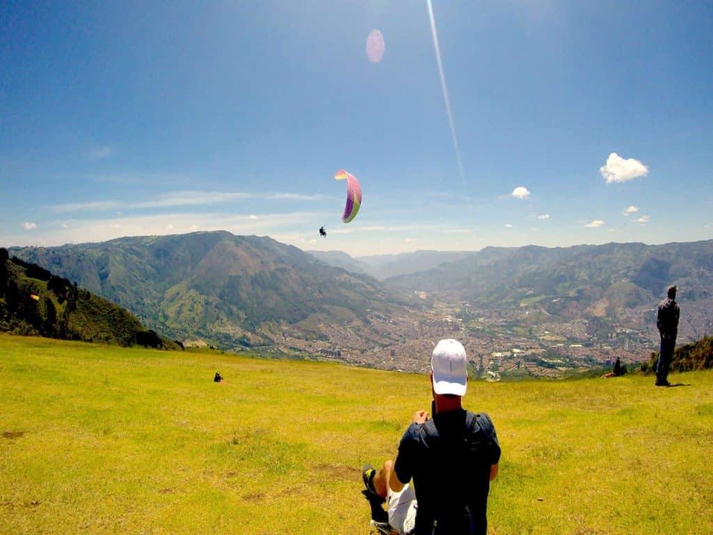 Medellin San Felix Paragliding