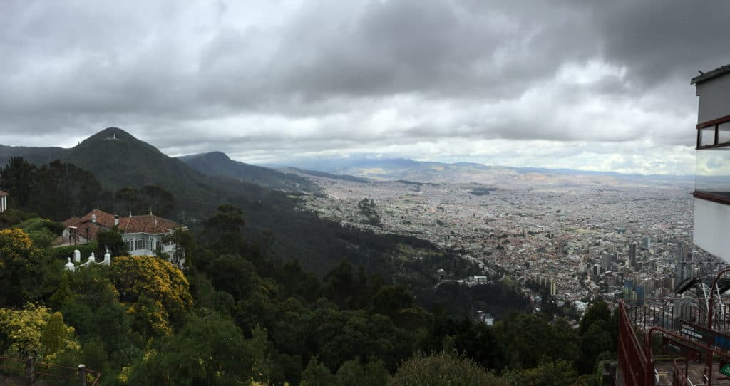 Monserrate Bogota City View