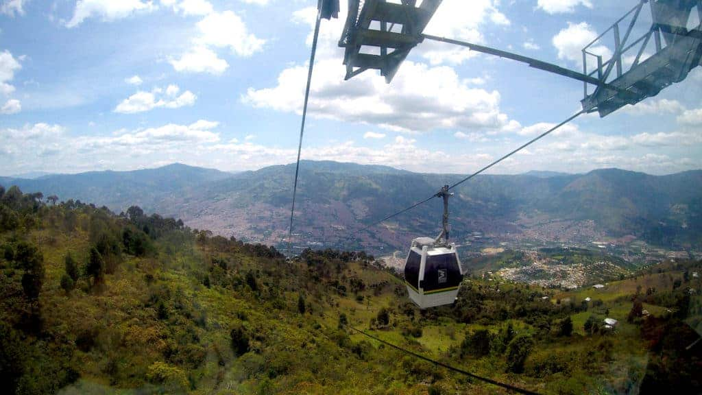 Parque Arvi Cable Car