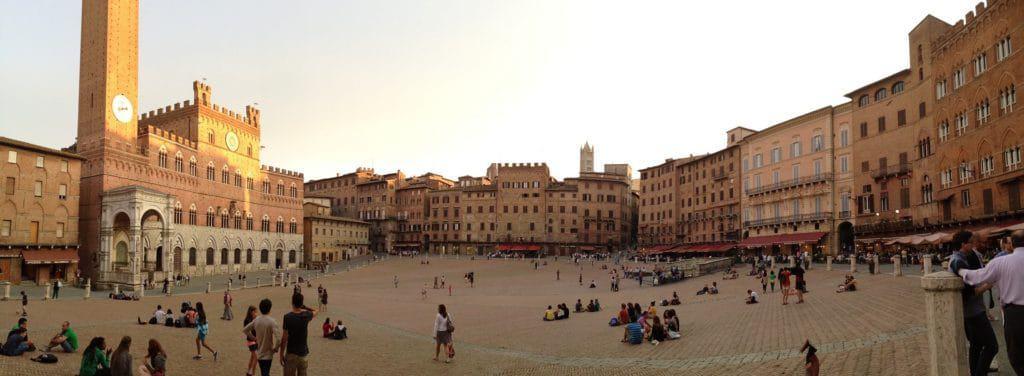 Piazza del Campo View Siena