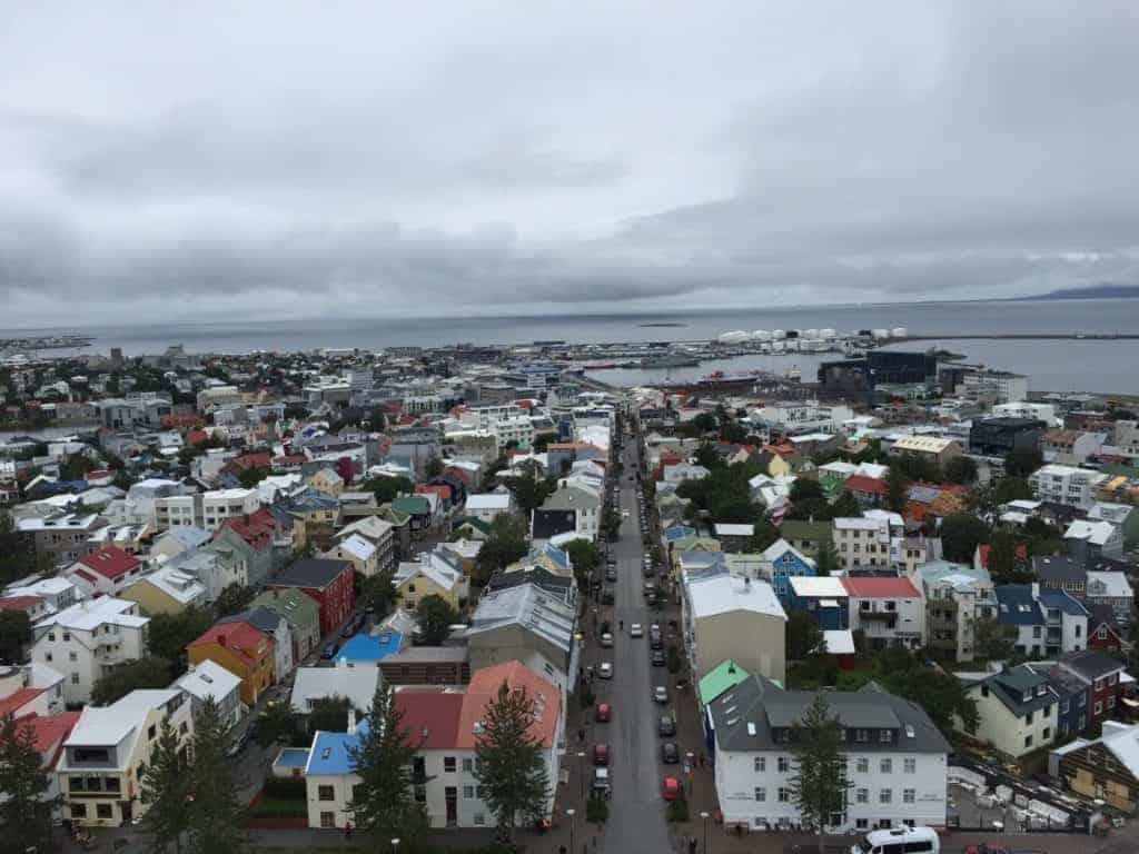 Reykjavik Church View