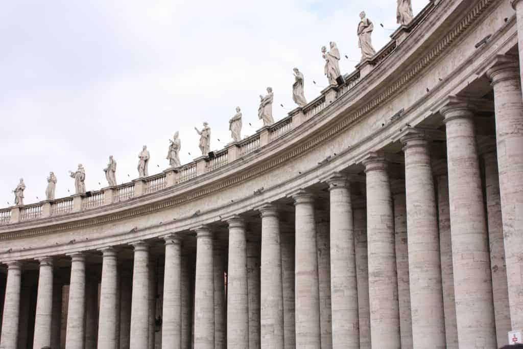 Saint Peter's Sqaure Statues Vatican