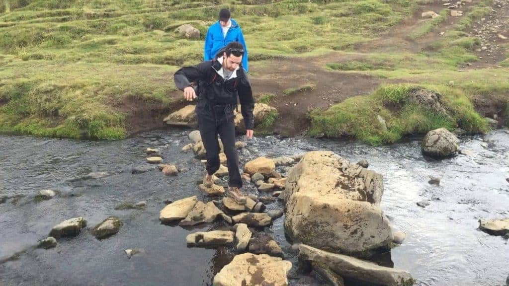 Skogafoss Hike Iceland River