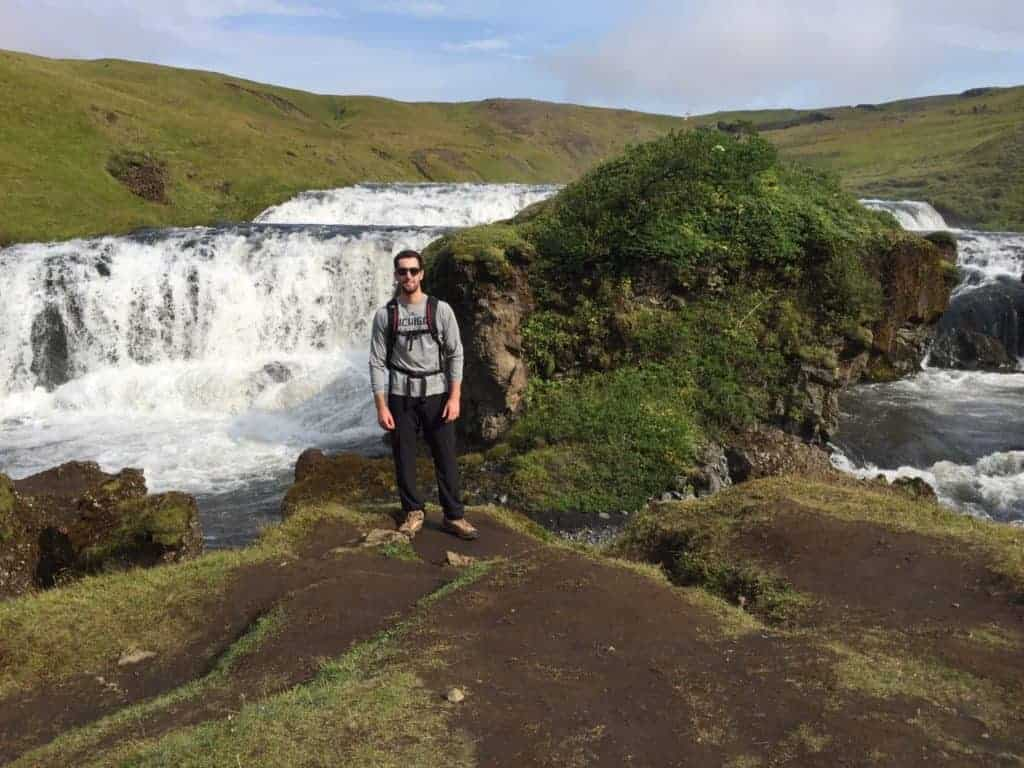 Skogafoss Hike Iceland Waterfall