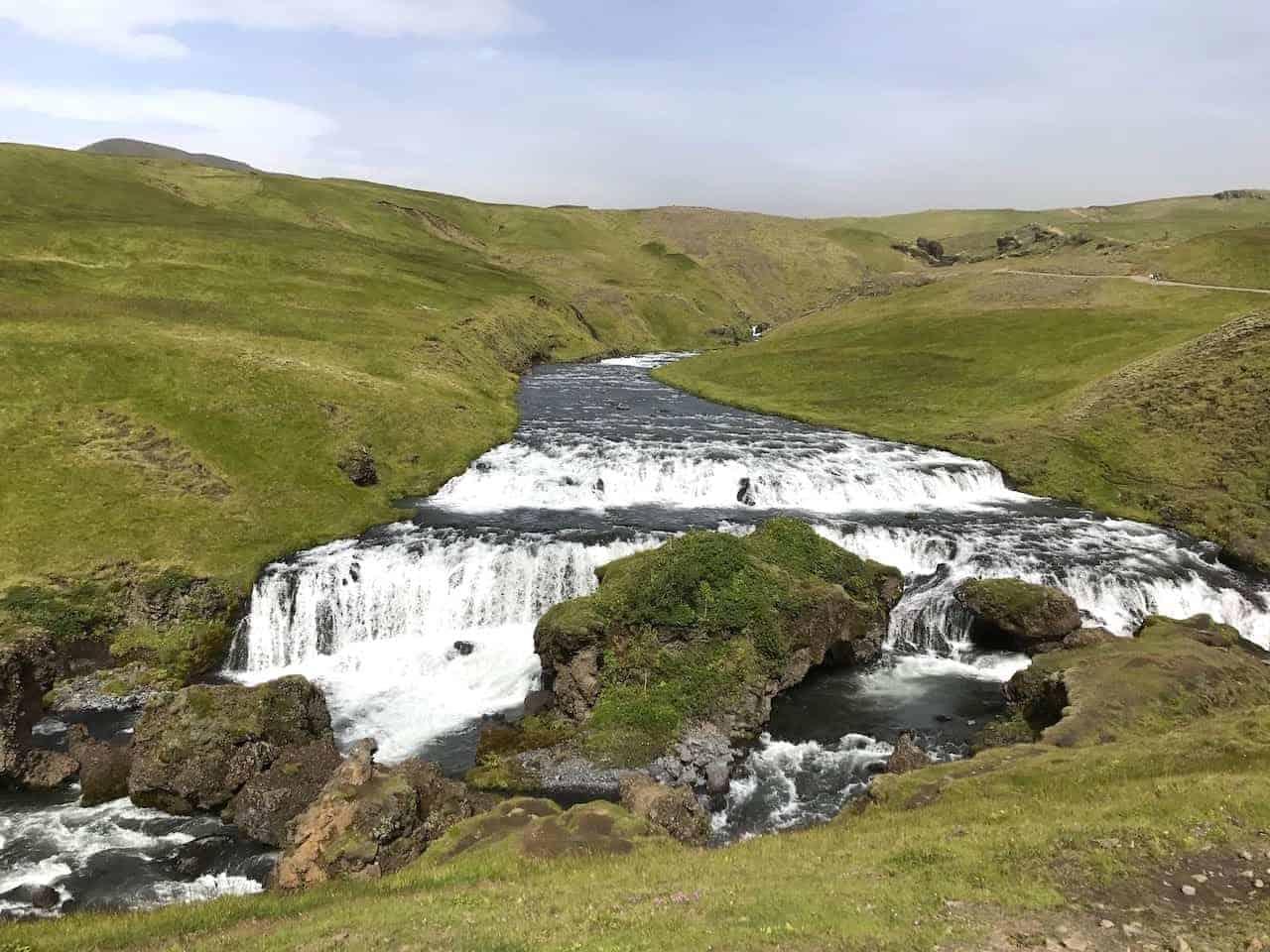 Skogafoss Waterfall Hike