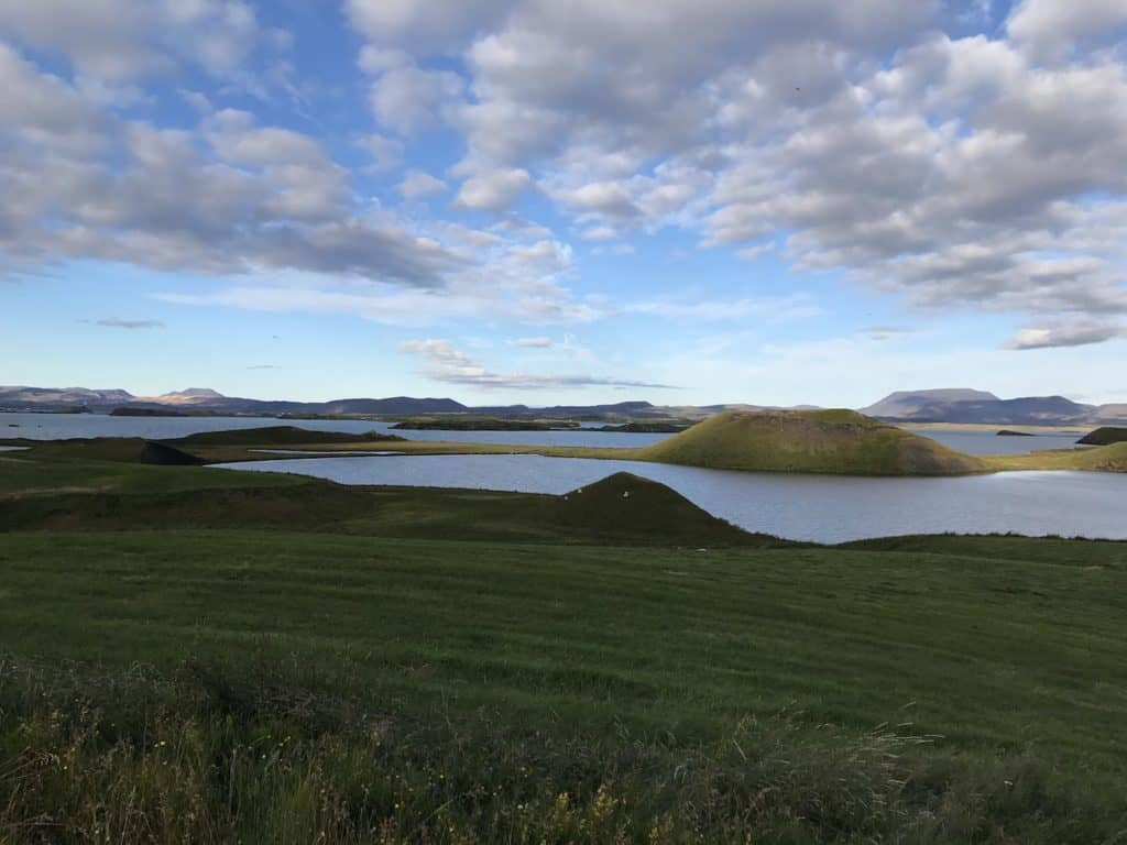 Skutustadir Pseudo Craters​ Lake Myvatn 2