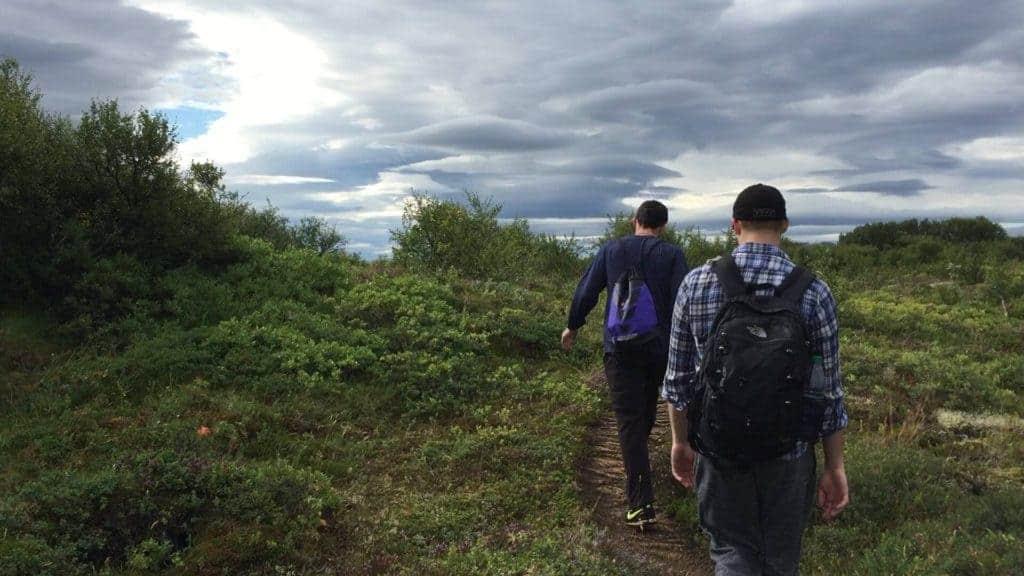 Thingvellir Hiking Iceland