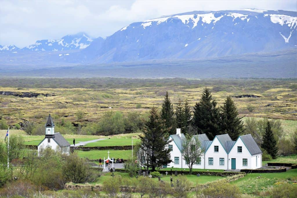 Thingvellir Iceland Church