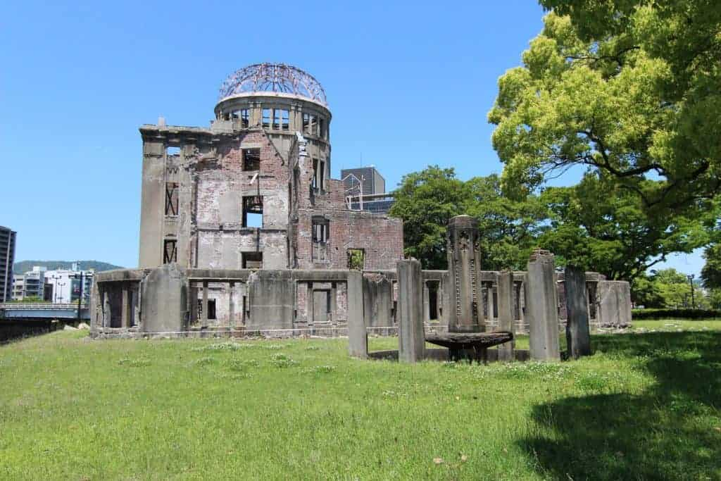 Atomic Bomb Dome Hiroshima Japan