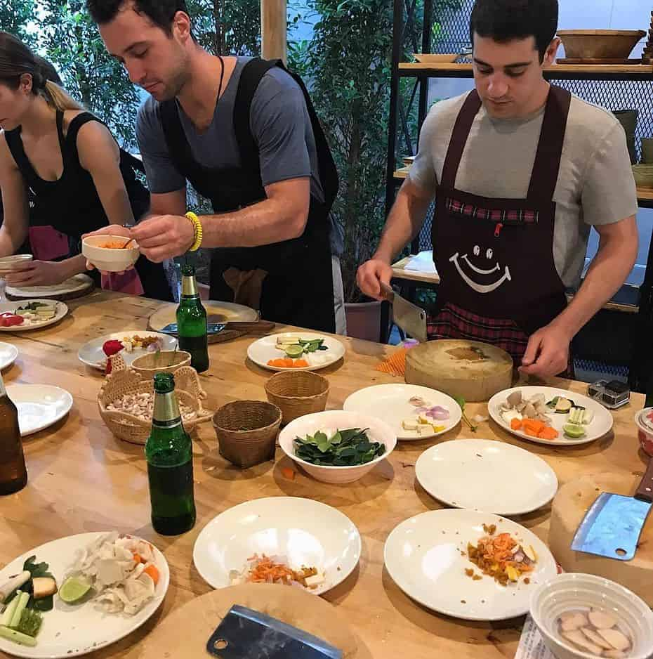 Chiang Mai Cooking Class Prep
