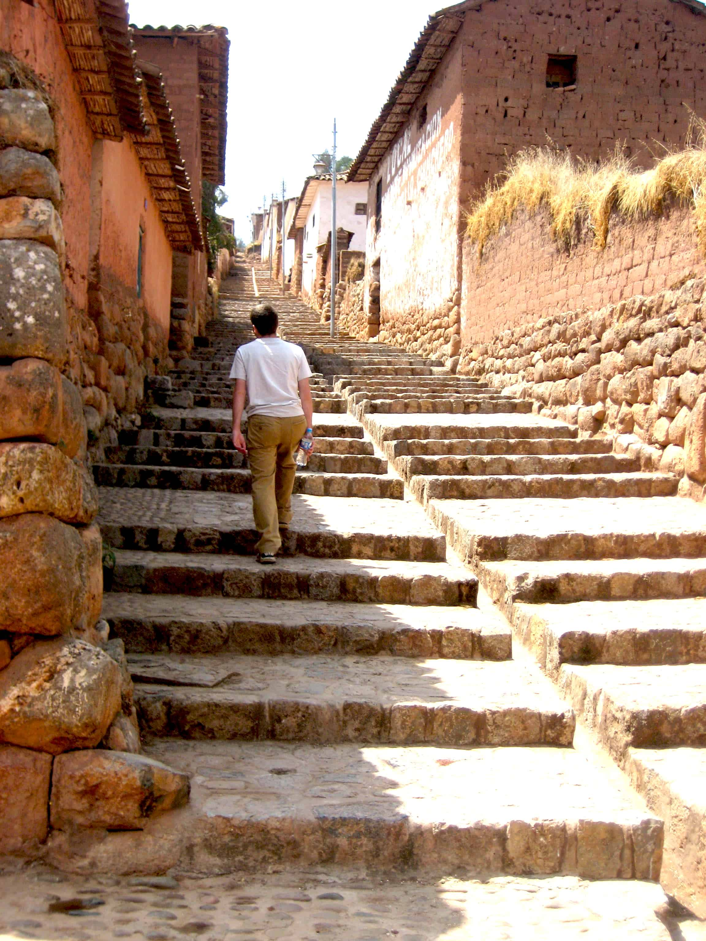 Chincero Stairs